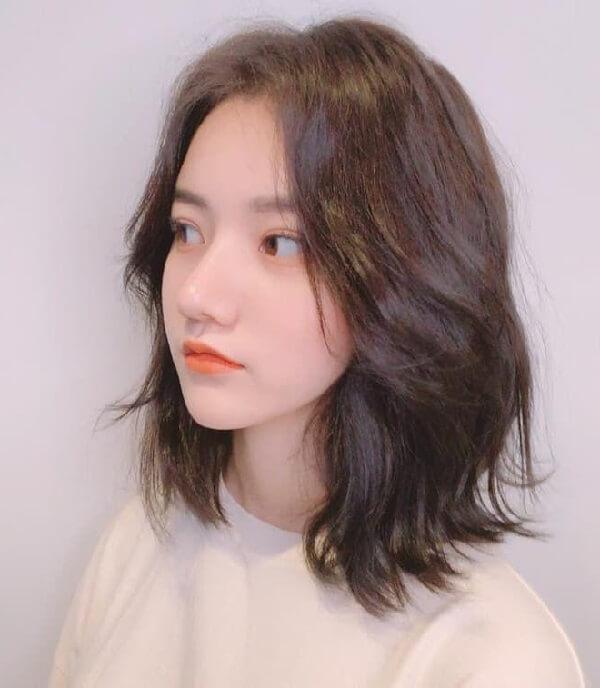 Tóc layer nữ ngắn