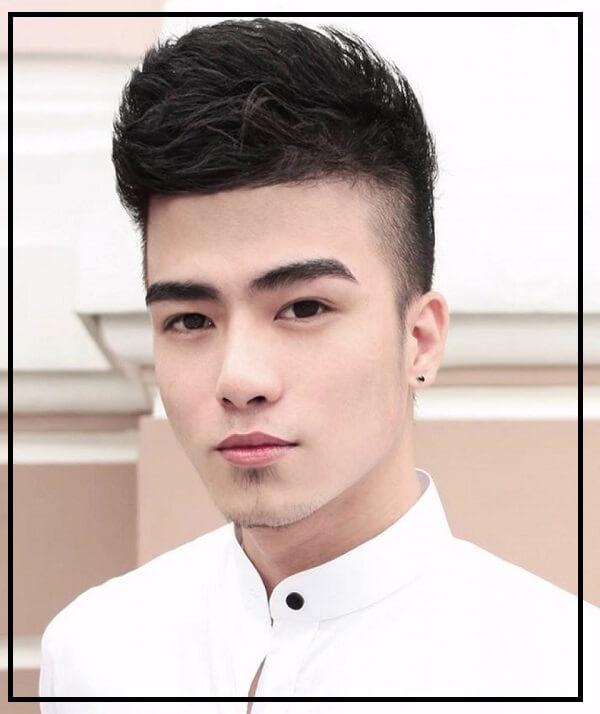 tóc nam cho mặt dài