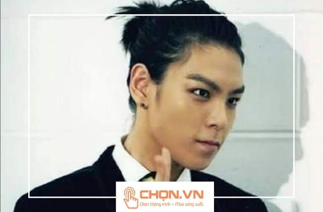 Tóc dài nam búi cao kiểu Man Bun Hàn Quốc