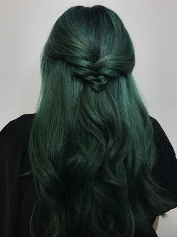 Kiểu tóc ngang lưng