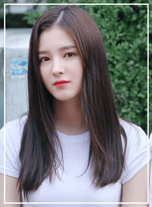 Tóc nữ Hàn Quốc ngang lưng