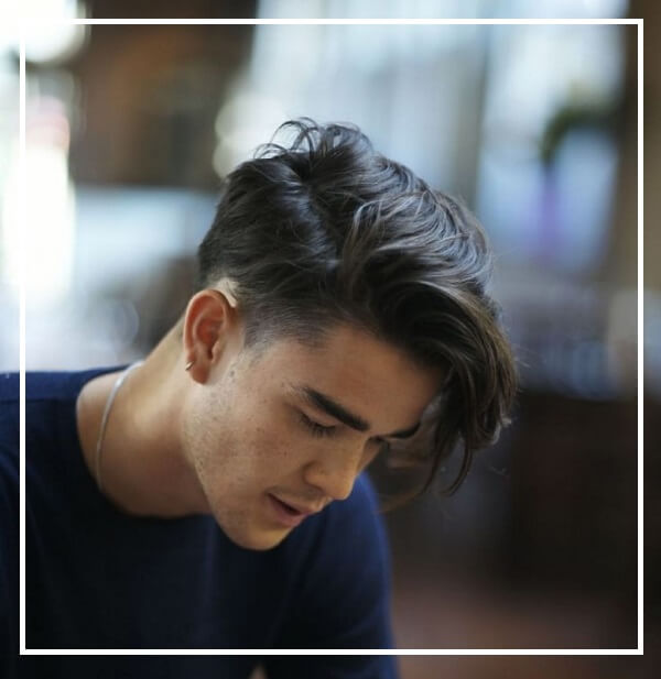 Kiểu tóc undercut mái dài