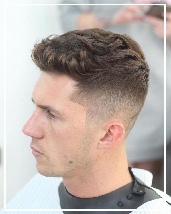 Kiểu tóc undercut mái ngắn