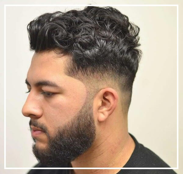 Kiểu tóc xoăn nam châu âu