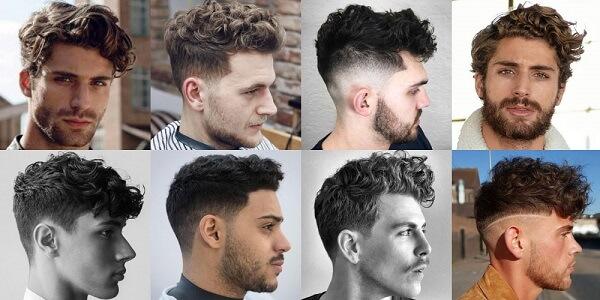 Các kiểu tóc xoăn nam đẹp
