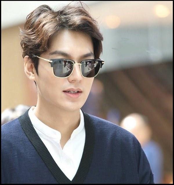 Kiểu tóc xoăn sóng nam Lee Min-ho