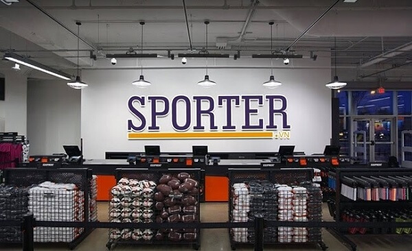 Hệ thống bán lẻ đồ thể thao Sporter