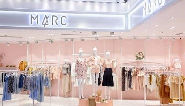 Cửa hàng vô cùng sang trọng của Marc Fashion
