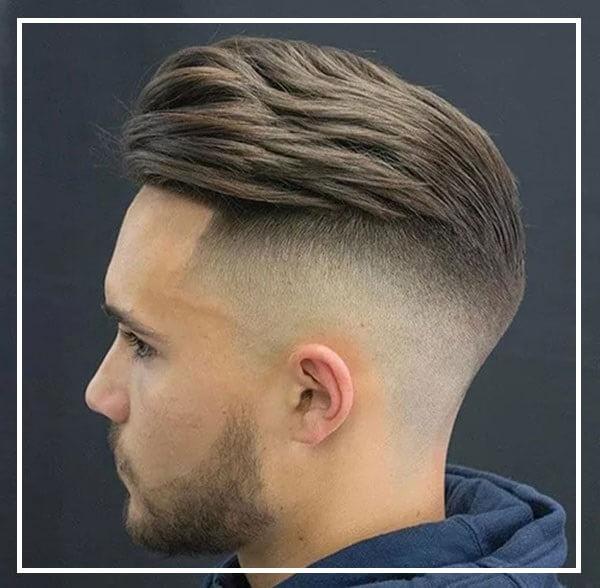 Kiểu tóc vuốt ngược cho mặt tròn