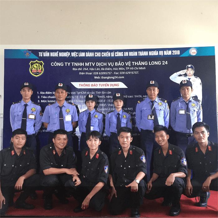 công ty bảo vệ thăng long 24h