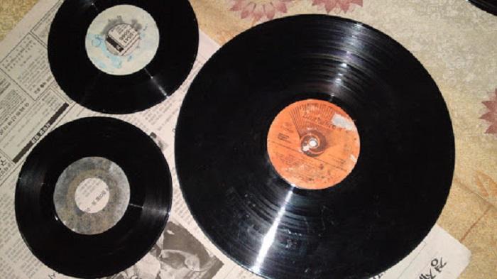 Cửa hàng dĩa cd đĩa than