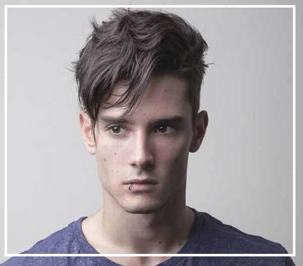 Kiểu tóc nam mặt dài tỉa layer