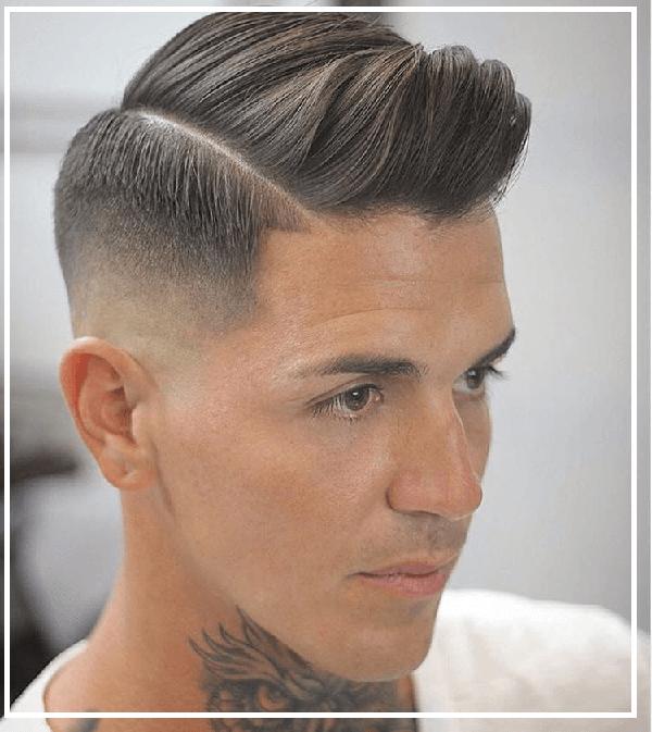 Tóc undercut cho nam có gương mặt dài