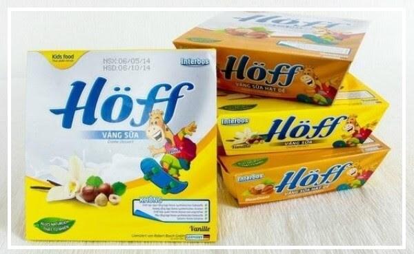 Váng sữa Hoff là một sản phẩm giàu dinh dưỡng dưỡng tốt cho trẻ