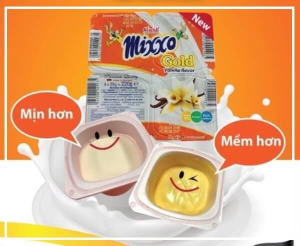 Váng sữa Mixxo là váng sữa được sản xuất từ thương hiệu lâu đời
