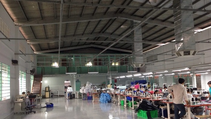 Công ty may balo túi xách Thái Silk