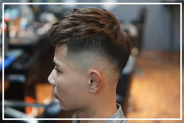 Kiểu tóc mohican vuốt phồng