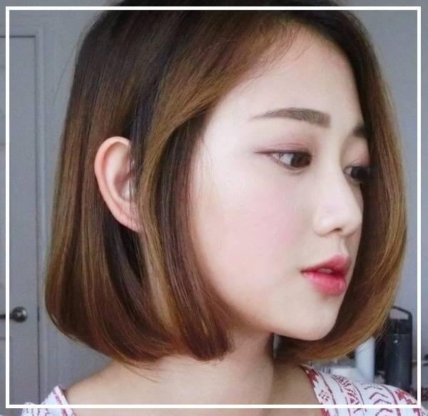 Kiểu tóc bob cho mặt dài