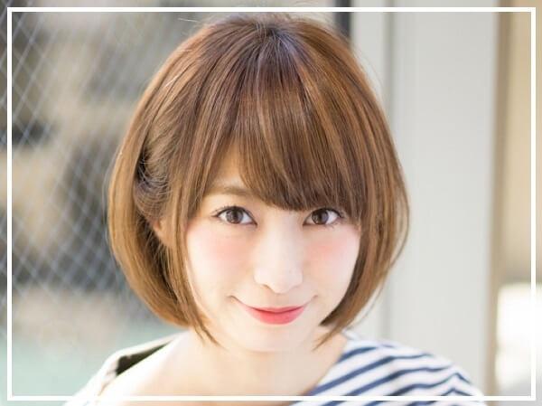 Kiểu tóc bob ngắn Nhật
