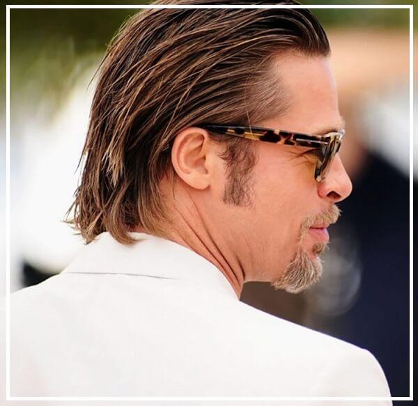 Kiểu tóc nam dài vuốt ngược