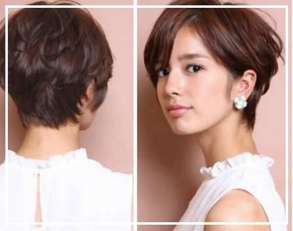 Kiểu tóc tém uốn