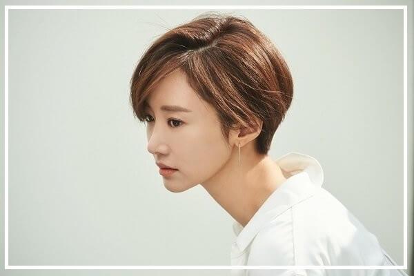 Kiểu tóc tomboy dài