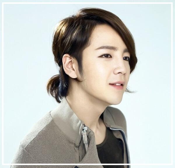 Tóc dài nam Hàn Quốc