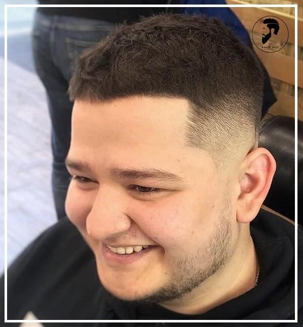 Kiểu tóc ngắn nam mặt tròn