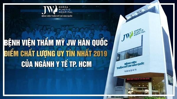 Bệnh viện thẩm mỹ Hàn Quốc JW Sài Gòn - thẩm mỹ viện lớn nhất sài gòn