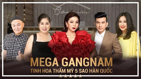 Thẩm mỹ viện Mega Gangnam - thẩm mỹ viện lớn nhất sài gòn