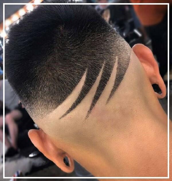 Tóc đầu đinh Tattoo