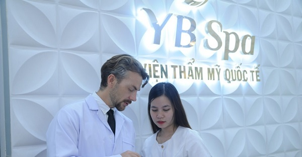 YB Spa trị mụn quận 7