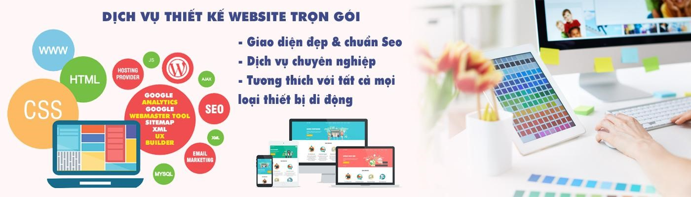Dịch vụ thiết kế website uy tín trọn gói